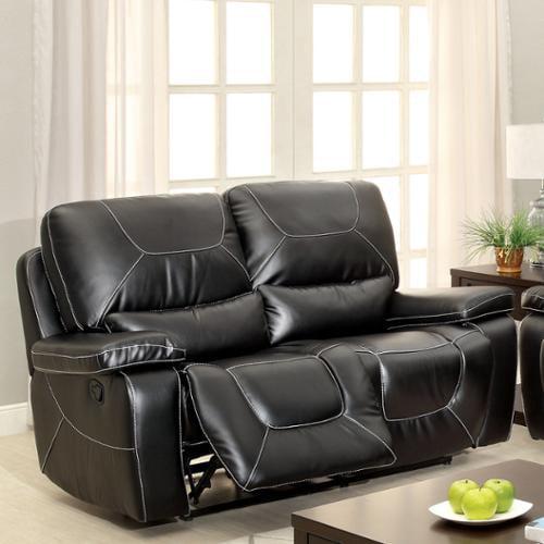 Furniture Of America Frasien Modern Bonded Leather Reclining