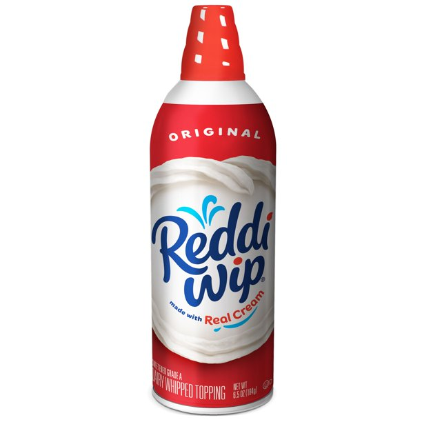 Reddi-wip Original Whipped Dairy Cream Topping 6.5 oz.