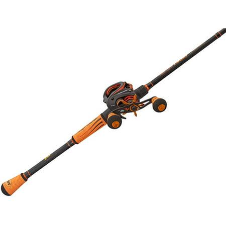 Lews fishing mach crush slp baitcast combo 7 5 1 gear for Lews fishing apparel