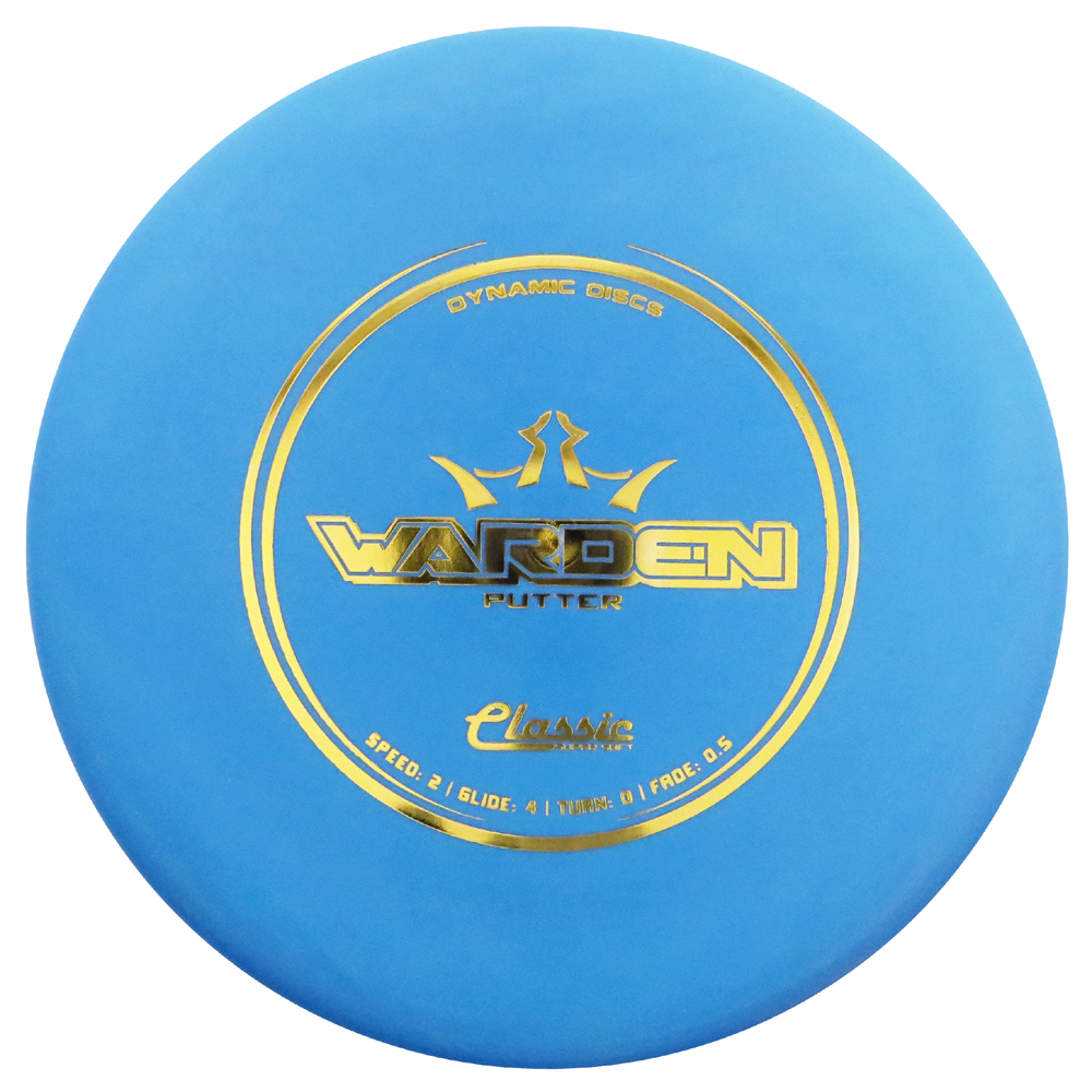 Dynamic Discs Supersoft Warden 173-176g Putter Golf Disc [Colors may vary] - 173-176g