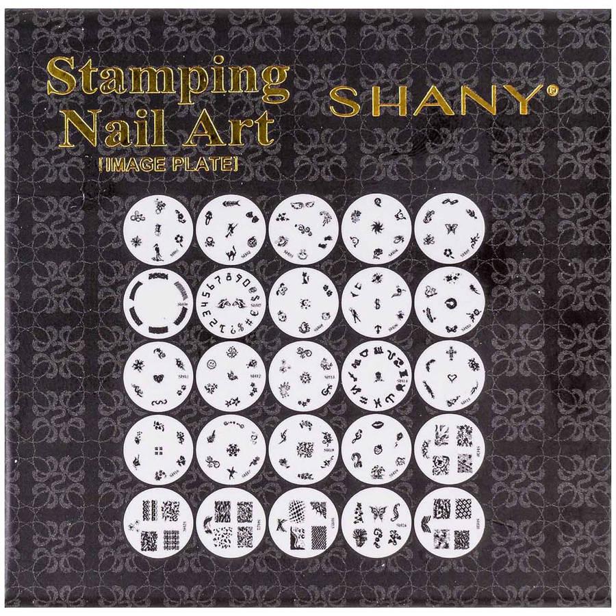 SHANY Stamping Nail Art Image Plates, 25 count