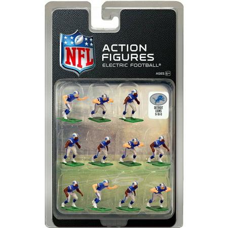 Detroit Lions Home Uniform NFL Action Figure Set
