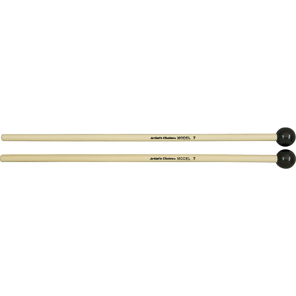 Grover Pro Artist's Choice Solo Glock   Bell Mallets 7 8 in. Black Phenolic by Grover Pro