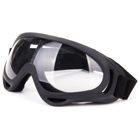 C.F.GOGGLE Ski Goggles Outdoor Sports Ski Glasses CS Army Tactical Military Goggles Windproof Snowmobile Anti-fog UV Protection Bicycle Motorcycle Protective Glasses with Adjustable Straps