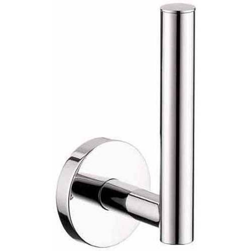 Hansgrohe 40517820 E and S Accessories Toilet Paper Holder Single-Roll Vertical, Various Colors