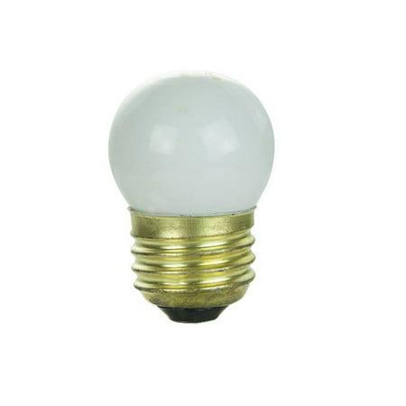 7.5w S11 Medium Base (SUNLITE 7.5w S11 CD 120v Medium Base White Bulb)