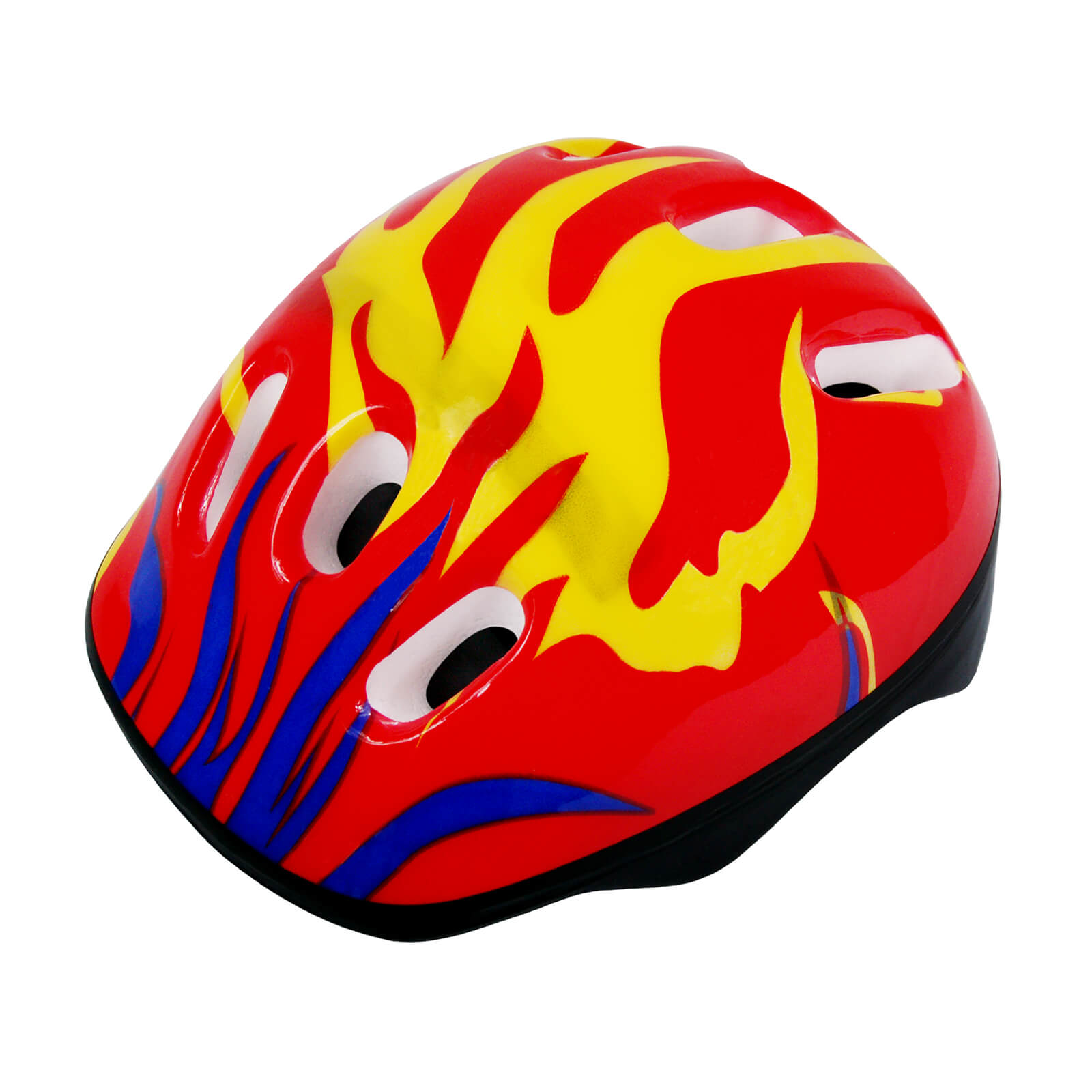 Adjustable Fitting Size M Kids Bike Protective Helmet, Star Pattern by Scale Sports
