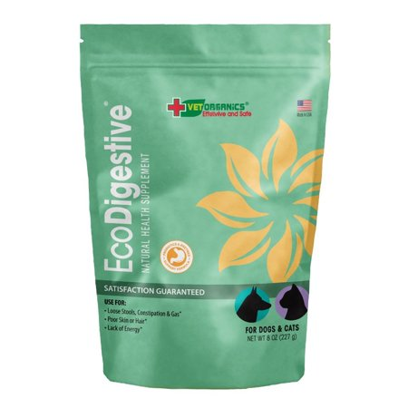 Vet Organics EcoDigestive Probiotic & Enzyme Support for Dogs & Cats, 8 oz.