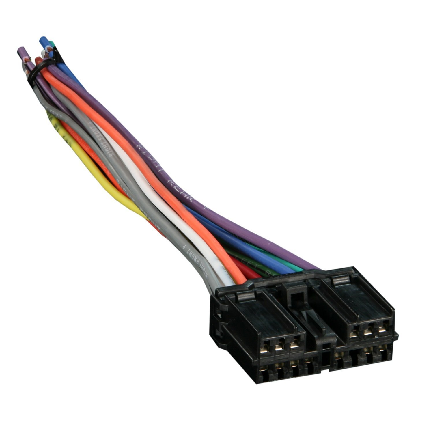 Reverse Wiring Harness 71-7001 for Select 1995-up Chrysler, Dodge,  Mitsubishi Vehicles OEM Radio By Metra Ship from US - Walmart.com