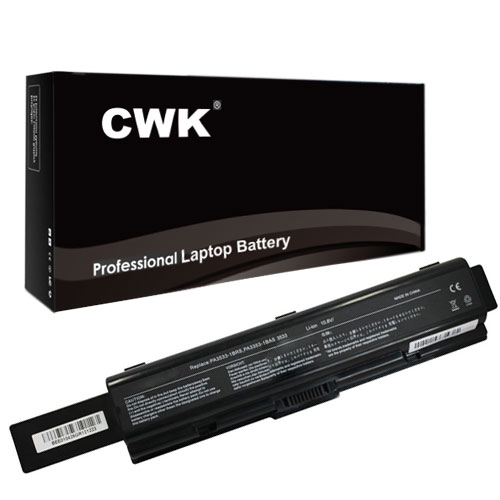 CWK 9 Cell High Capacity Laptop Notebook Battery for Toshiba A305-S6837 A305-S6839 A305-S6841 A305-S6843 A305-S6844 A305-S6845 A305 A355D L200 Series a355d a505 l200 l203