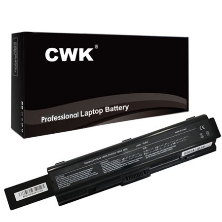 Toshiba Satellite A305-S6905 Laptop Battery - New CWK Professional 9-cell, Li-ion Battery