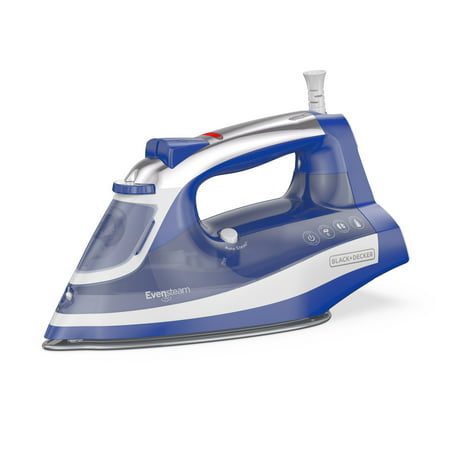 BLACK+DECKER One Step Steam Iron, Smart Steam™ Control, Navy, IR18XS ()