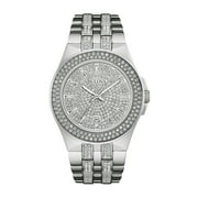 Bulova Men's Swarovski Crystal Stainless Steel Watch 96B235