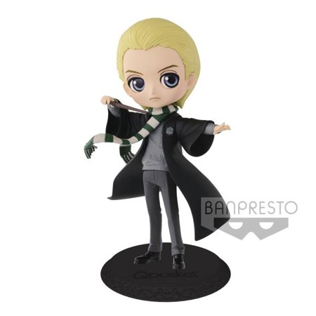 Harry Potter Q Posket Draco Malfoy Collectible PVC FIgure [Normal Color Version]](Draco Malfoy Wand)