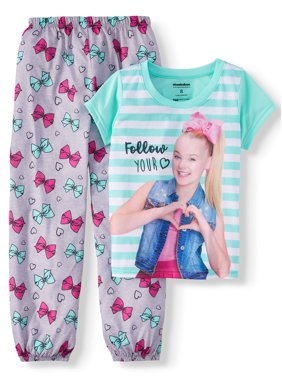 750596718a22 Product Image Girls  Jojo Siwa 2 Piece Pajama Sleep Set (Little Girl   Big  ...