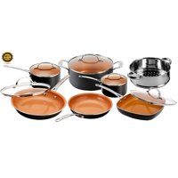 Gotham Steel 12-Piece Nonstick Frying Pan and Cookware Set