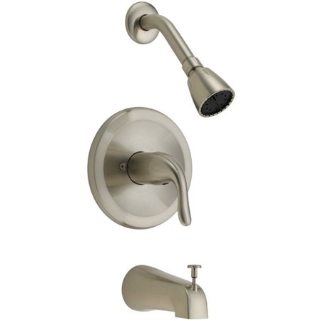 EZ-FLO Single Handle Tub and Shower Trim Set
