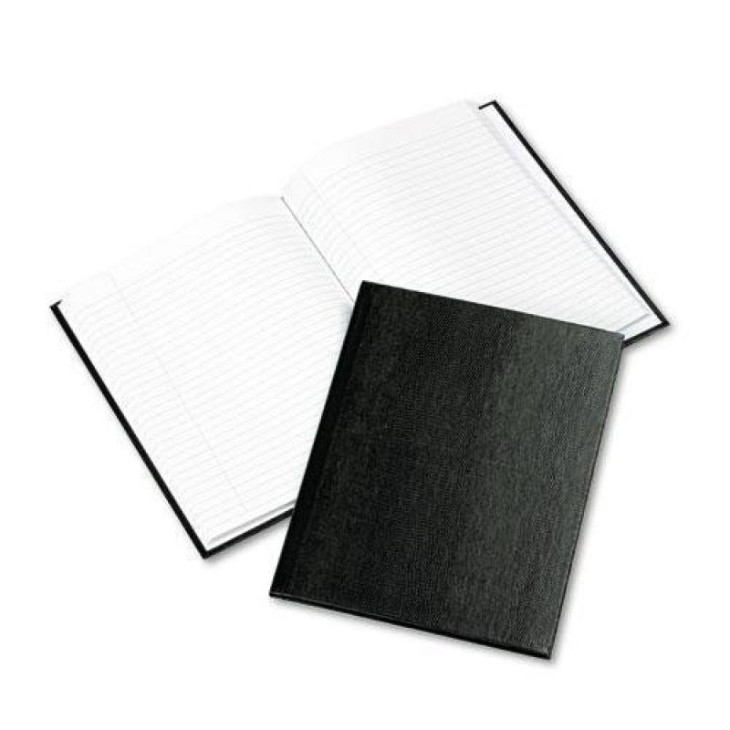 Rediform A7BLK Exec Notebook, College Margin Rule, 9-1 4 x 7-1 4, WE BLK, 150-SHeets by