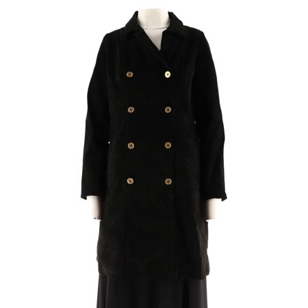 - C Wonder Double Breasted Suede Trench Coat A282695