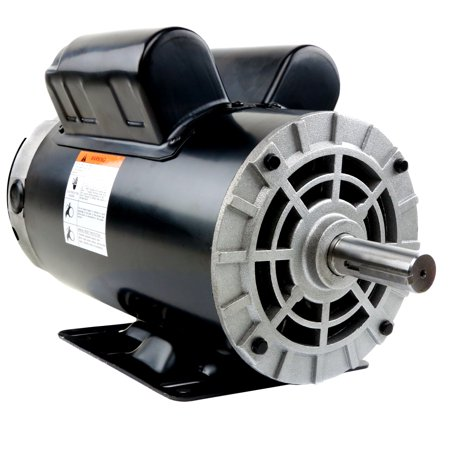 5 HP Compressor Duty Electric Motor 1 Phase 3450 RPM 56 Frame 7/8