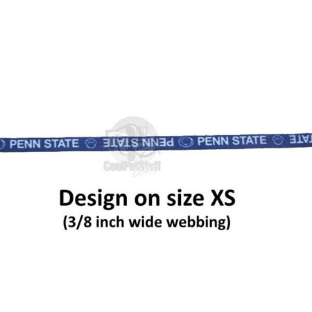 Penn State Nittany Lions Pet Nylon Collar - XS