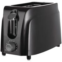 Brentwood TS-260B Cool Touch 2-Slice Toaster, Black