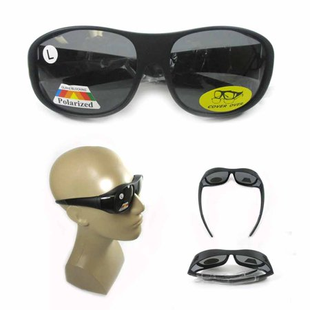 Polarized Sunglasses Cover Over Frame Driving Glass Solar Shield Lens Drive