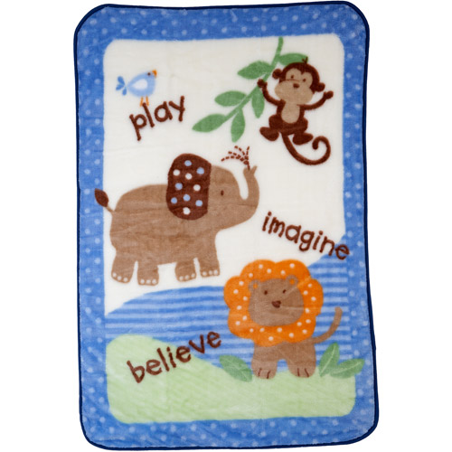 Garanimals - Plush Blanket, Blue