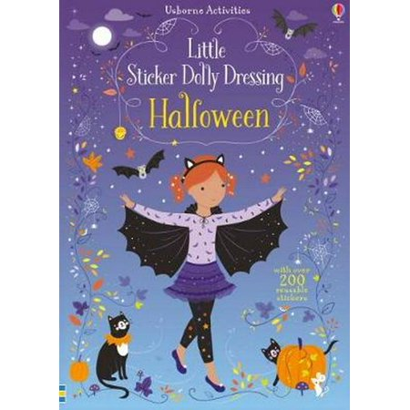 LITTLE STICKER DOLLY DRESSING HALLOWEEN - Halloween Retail