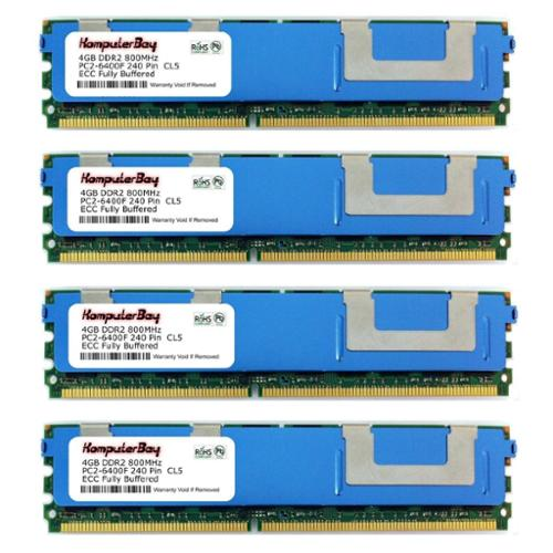Komputerbay 16GB (4X4GB) Memory for HP XW8600 WORKSTATION...
