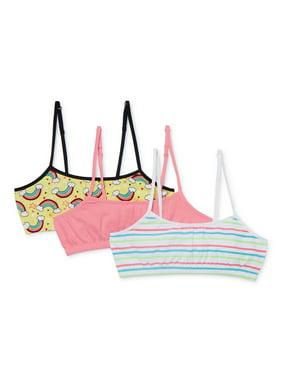 Girls 3 Pack Pink Label Bralette (Little Girls & Big Girls)