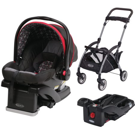 graco snugride click connect 30 lx infant car seat choose your color with snugrider stroller. Black Bedroom Furniture Sets. Home Design Ideas