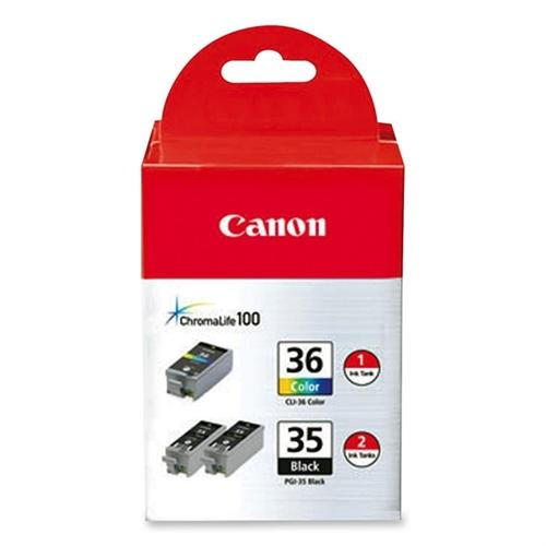 Canon PGI-35/CLI-36 Value Pack - Original - Ink Tank for PIXMA iP100, iP100 Bundle, iP100 with battery,
