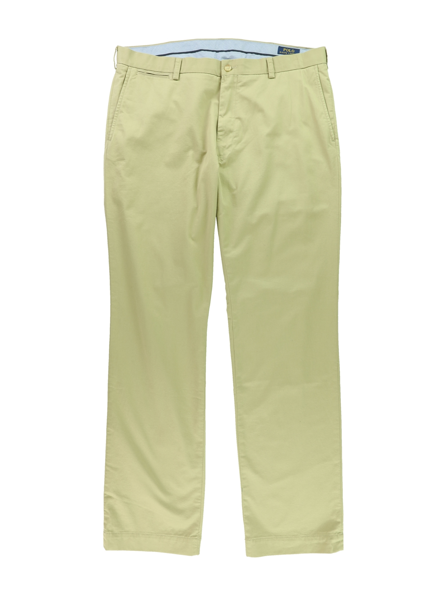 Ralph Lauren Mens Classic-Fit Casual Chino Pants clskhaki 38 Tall/36 - Big & Tall