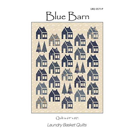 Blue Barn Quilt Pattern by Laundry Basket Quilts 64