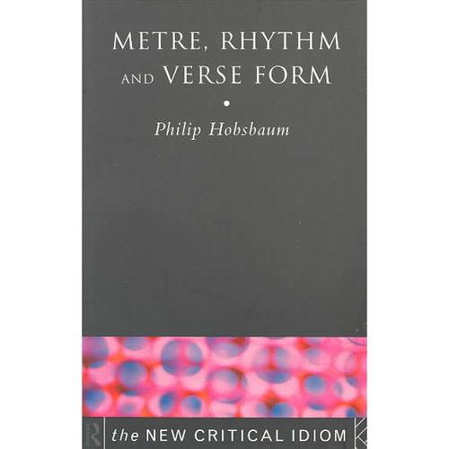 Metre, Rhythm, and Verse Form