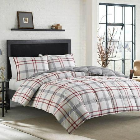 set comforter queen bauer plaid hei a wid eddie p full fmt target red edgewood