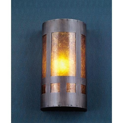 "Meyda Tiffany 23956 Mica Missions 5"" Wide ADA Compliant Single Light Wall Washer by Meyda Tiffany"
