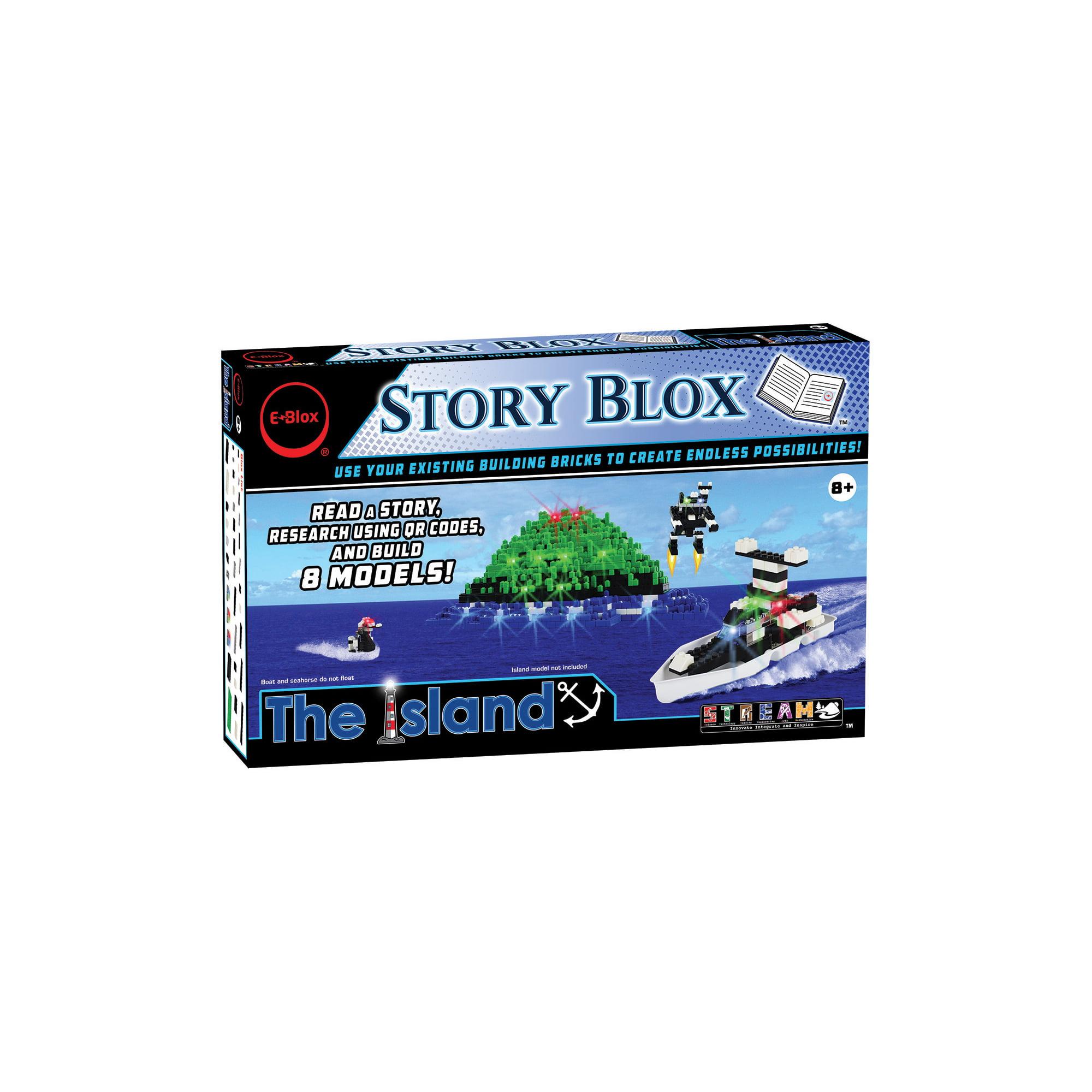 E-Blox Stories - the Island Building Set