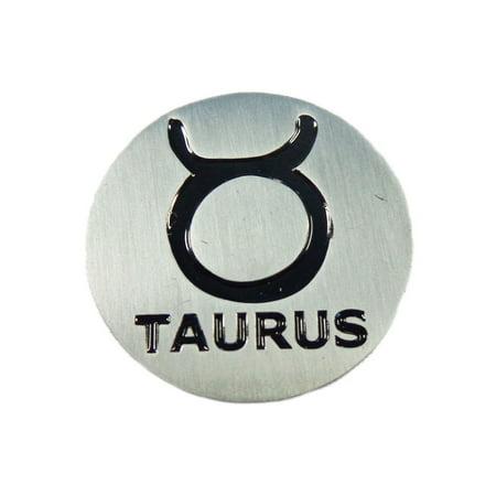 Faux Metal Ball (NEW EVERGOLF Zodiac SIgn Taurus Metal Golf Ball)