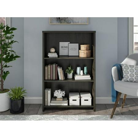 Mainstays Heritage 3-Shelf Bookcase, Multiple Finishes (Kindergarten Bookcase)