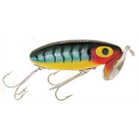 G600 arbogast jitterbug 3 8 oz perch fishing lure for Jitterbug fishing lure