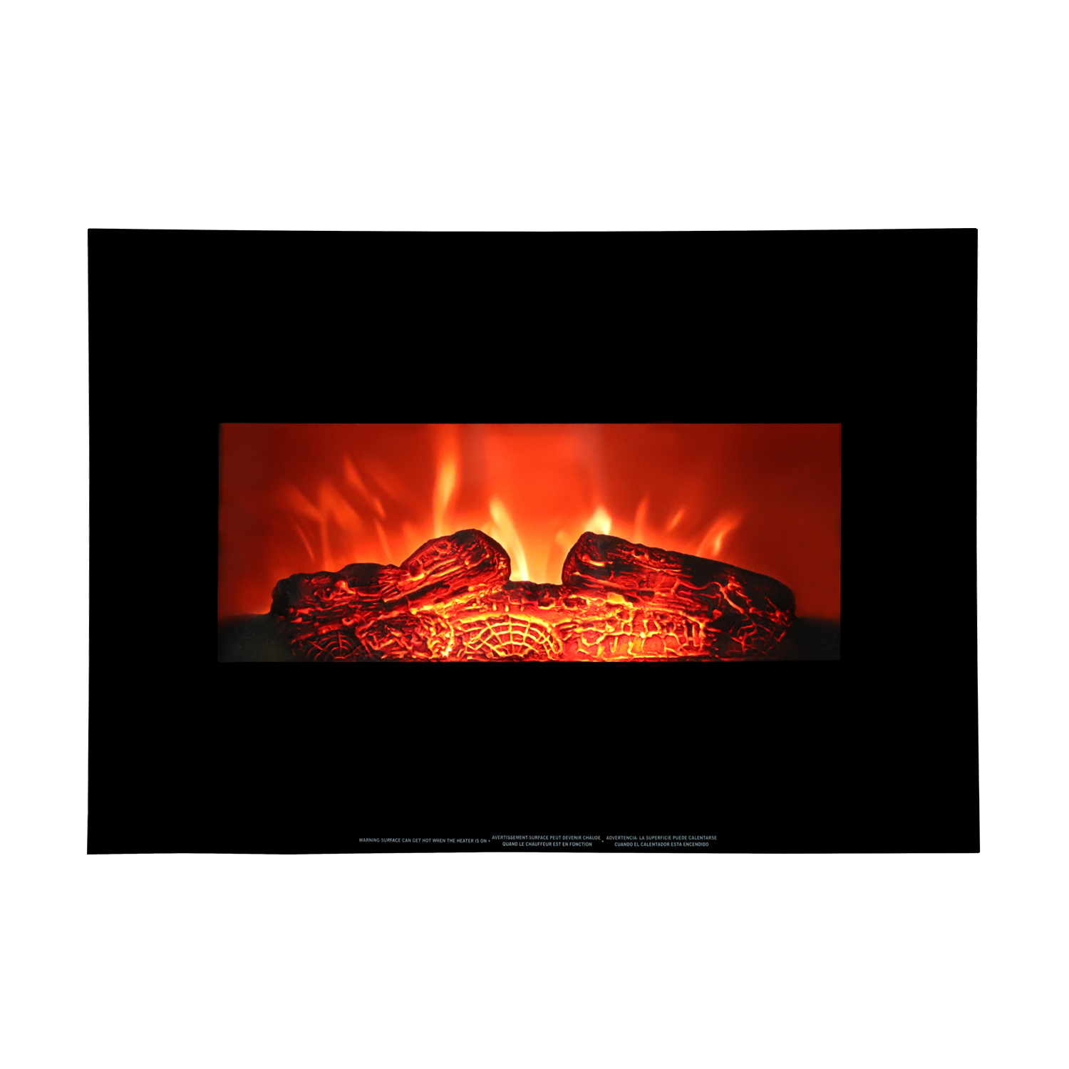 "Ktaxon Fireplace Stove with 3D Flame Effect 1400W Fireplace with 26"" Electric Fireplace"