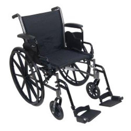 McKesson Lightweight Wheelchair Steel 16