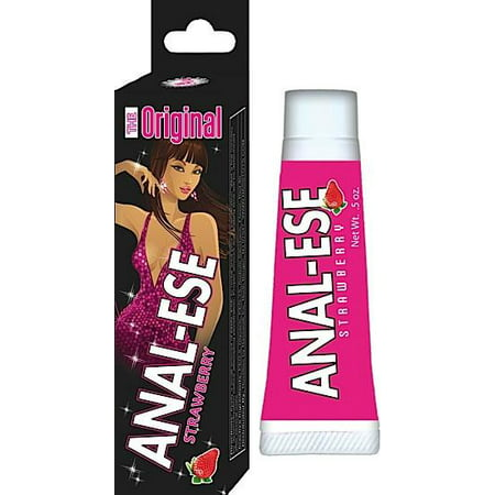 Anal Ese Lubricant Strawberry 5Oz