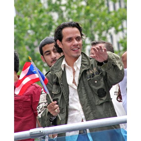 Marc Anthony In Attendance For 50Th Anniversary National Puerto Rican Day Parade Manhattan New York Ny June 10 2007 Photo By Steve MackEverett Collection Celebrity