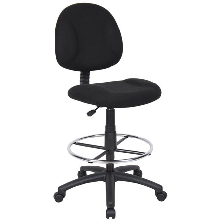 Boss Office & Home Contoured Comfort Adjustable Sit-Stand Desk