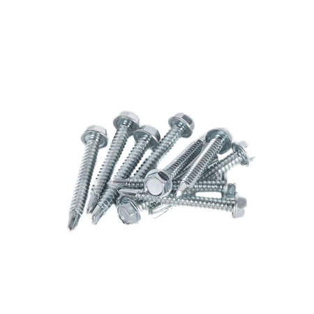 DC Cargo Mall E Track Trailer Tie-Down Rail Installation Fasteners Kit - 1.5