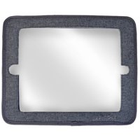JJ Cole 2 IN 1 MIRROR & Tablet Holder - GRAY HEATHER