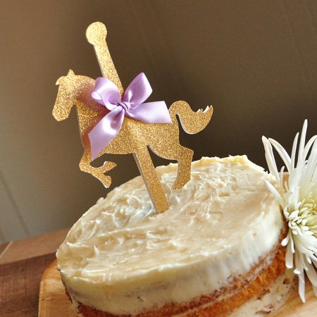 Carousel Cake Topper. Handcrafted in 1-3 Business Days. Carousel ...